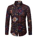 conqueror Hommes Chemise de Couture Automne Hiver Manches Longues Patchwork Attache Sweat Top Confortable Sport Haute qualité Casual Blouse T-Shirt des éléments Classiques Vintage et élégants