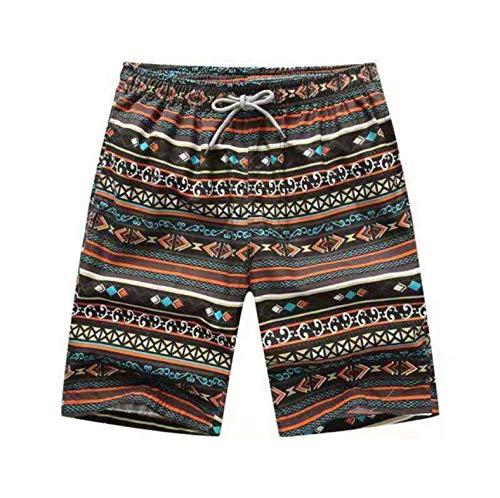 ACEYCHUANG Badeshorts Badehose Boxer Herren Sommer Stil Mode Lässig Reine Farbe Strandhose Fitness Shorts4XL -
