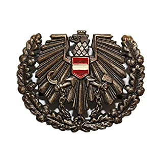 Genuine Austrian Army Issue Eagle with Flag Hat Cap Beret Pin Badge Cockade