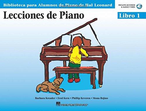 Piano Lessons Book 1 - Book/CD Pack (Biblioteca Para Alumnos de Piano de Hal Leonard)