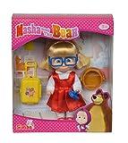 Simba 109301013 - Mascha und der Bär Cousine Dasha, Puppe, 12 cm