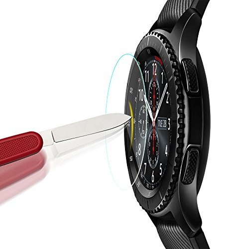 harrystore-2pc-hd-intelligent-frosted-scrub-screen-protector-film-for-samsung-gear-s3-frontie