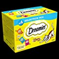 Dreamies Cat Treats Selection Box, 4 x 30 g