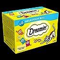 Dreamies Cat Treats Selection Box, 4 x 30 g