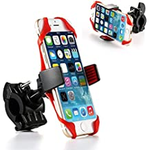 Soporte universal de movil para bicis y motos, idóneo para teléfonos con un ancho de 54 mm a 84 mm.