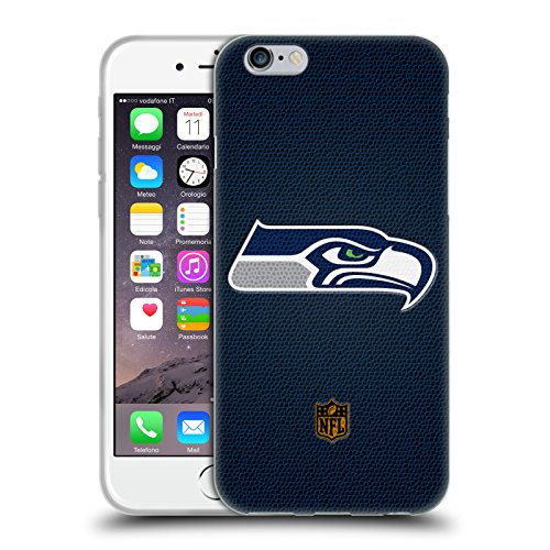 Head Case Designs Offizielle NFL Fussball Seattle Seahawks Logo Soft Gel Hülle für iPhone 6 / iPhone 6s