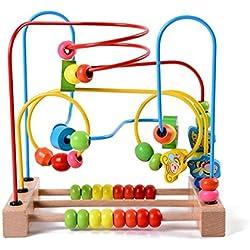 Lewo gran círculo animal Labirinto del laberinto Roller Coaster juguetes educativos para niños