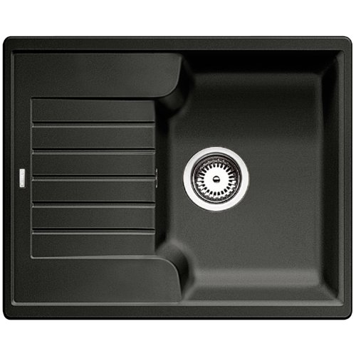 Blanco 516918 Küchenspüle Zia 40 S, Silgranit PuraDur, Anthrazit