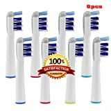 Beauty Nymph Generic Compatible for Replace Braun Oral B Model EB-30A,Comparable To Professional Deep Sweep Replacement Head,High Quality And Affordable Electric Toothbrush Heads (8pcs)