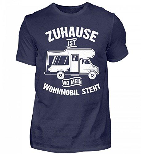 Hochwertiges Herren Shirt - Camping Camper Wohnwagen Wohnmobil Campingplatz Zuhause Geschenk