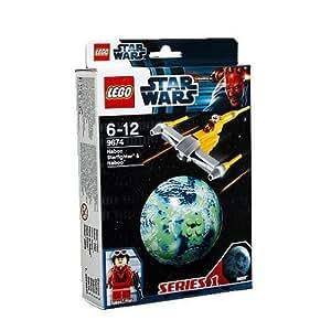 LEGO Star Wars - 9674 - Jeu de Construction - Naboo Starfighter et Naboo