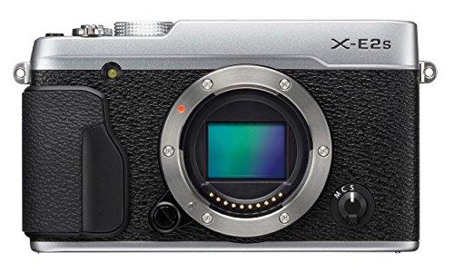 """Fujifilm X-E2S - Cuerpo de cámara EVIL de 16.3 MP (sensor X-Trans CMOS II, sistema limpieza sensor, pantalla de 3"""", medición TTL de 256 zonas, WiFi), color negro y plateado"""