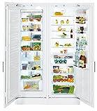 Liebherr SBS70I4 Premium Einbau Side by Side Kühl-Gefrier-Kombination