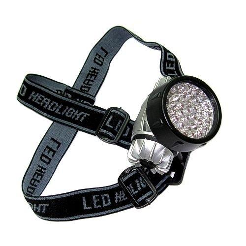 Kopflampe 38 LED, Stirnleuchte, Stirnlampe, Kopfleuchte