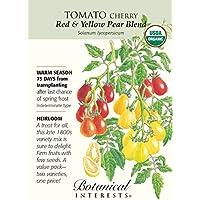 PlenTree Rojo y Amarillo pera Mezcla de Tomate - 30 Semillas - Orgã¡Nico - Intereses botánicos