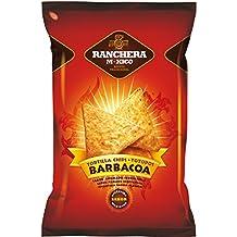 Ranchera M-Xico Nachos Barbacoa Totopos - 200 gr - [Pack de 5]