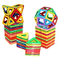 36Pcs Magnetic Building Blocks Toys Educational Magnetic Tiles Set for Boys/Girls, Stacking Blocks for Toddler/Kids