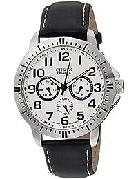 Citizen Analog White Dial Men's Watch - AG8310-08A