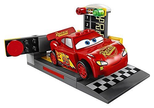 Lightning McQueens Beschleunigungsrampe, Auto-Spielzeug (Rennen-auto-einladungen)