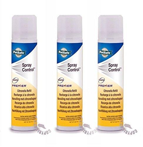 Aerosol de citronela anti ladridos para collares de perro (3 unidades)