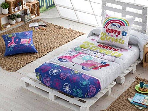 LaNovenaNube - Edredón Ajustable DREAMING cama 90