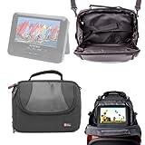 Sacoche et support appui-tête voiture pour lecteurs DVD portables D-Jix PVS 705-79CBC, 705-74H & 902-95LHD