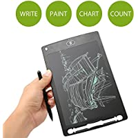 Tableta de Escritura LCD,niceEshop(TM) 8.5 Pulgada Tablero de Dibujo Digital Portátil Memo con Bolígrafo para Clase, Oficina, Casa (Negro)