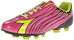 Diadora Women s Solano Soccer Cleat Shoes Magenta/Yellow 10 B(M) US