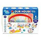 Picnmix Nuestra Casa Juguetes y Juegos Educativos para niños 3 años a 7 años