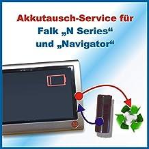 Akkutausch für Navi Falk Series N/ SeriesN / N Series / N Series + Navigator ACHTUNG!!! Ohne vorher zugesendetes Versandmaterial!!! Sehen Sie dafür bitte in die Angebote Premiumtausch *Akkutauschen.de ist ausgezeichnet mit dem Qualitätssiegel Werkstatt N des Rates für Nachhaltige Entwicklung*