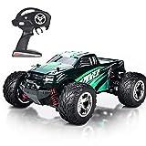 MaxTronic RC Voitures, RC Crawler Racing Véhicule Camion 2.4Ghz 4WD Haute Vitesse 1:20 Radio Télécommande Buggy Électrique Course Rapide Hobby(Vert)