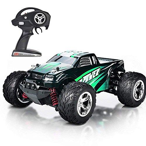MaxTronic RC Voitures, RC Crawler Racing Véhicule Camion 2.4Ghz 4WD Haute Vitesse 1:20 Radio Télécommande Buggy Électrique...