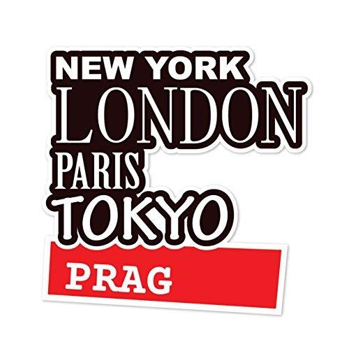 Preisvergleich Produktbild JOllify Aufkleber - PRAG – Farbe: Design: New York, London, Paris, Tokyo