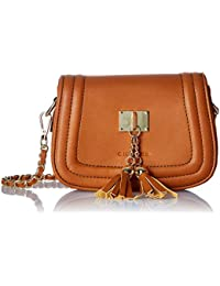 Giordano Women's Sling Bag (Brown)
