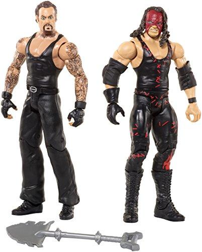 WWE Kane & Undertaker Actionfigur (2er Packung) - Schlacht-packungen (Hat Undertaker)