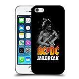 Ufficiale AC/DC ACDC Jailbreak Titoli Canzoni Cover Morbida In Gel Per Apple iPhone 5 / 5s / SE