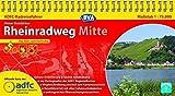 ADFC-Radreiseführer Rheinradweg Mitte 1:75.000 praktische Spiralbindung, reiß- und wetterfest, GPS-Tracks Download: Von Köln nach Karlsruhe