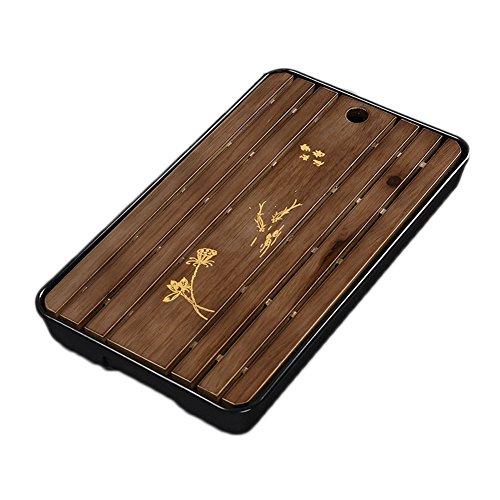 Chinesischer Gongfu-Tee-Tabellen-Tablett-Tabletop-Tee-Behälter, #37