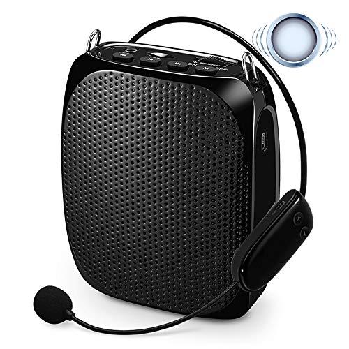 KYLINDRE Voice Amplifier Wireless Mini Altoparlante Portatile Ricaricabile da 10 W con Microfono ad Alta fedeltà per linsegnante Formazione per