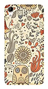 TrilMil Printed Designer Mobile Case Back Cover For HTC Desire 728