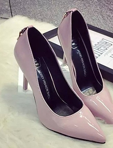 GS~LY Da donna-Tacchi-Casual-Tacchi-A stiletto-PU (Poliuretano)-Nero / Rosa / Rosso / Grigio pink-us5.5 / eu36 / uk3.5 / cn35