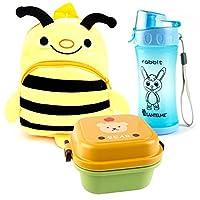Bambini Outdoor/set da giardino per bambini conLantelme zaino per bambini modello ape Gaggi. Con i vostri piccoli possono usarlo giocattolo borsa sacchetto caramelle, scuola materna o anche come Vesper Borsa da viaggio. Con due reciproco sepa...