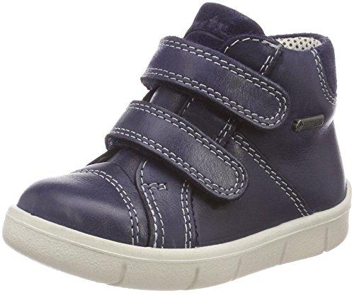 Superfit Baby Jungen Ulli Sneaker, Blau (Ocean Kombi), 21 EU