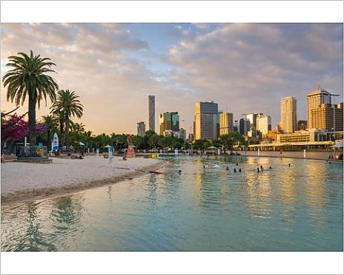 photographic-print-of-brisbane-south-bank