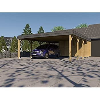 Doppel Carport Walmdach Sauerland Vi 700 X 800cm Carport