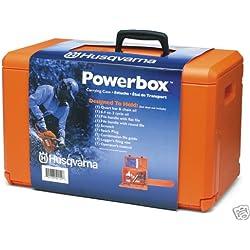 Moteur Mallette de scies Husqvarna Power Boîte en plastique