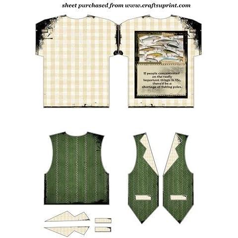 Vintage pesca maglietta e gilet di 3By Sharon Poore