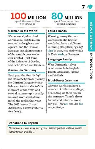 Lonely Planet German Phrasebook & Dictionary - 6