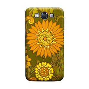 Desicase Samsung A5 Printed SunFlower 3D Matte Finishing Printed Designer Hard Back Case Cover (Yellow)