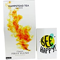 Hampstead Tea - Thè Nero Darjeeling Primo Raccolto - in Foglia da Agricoltura Biodinamica Certificato Demeter- 100 gr - - Biodinamica Tè Verde